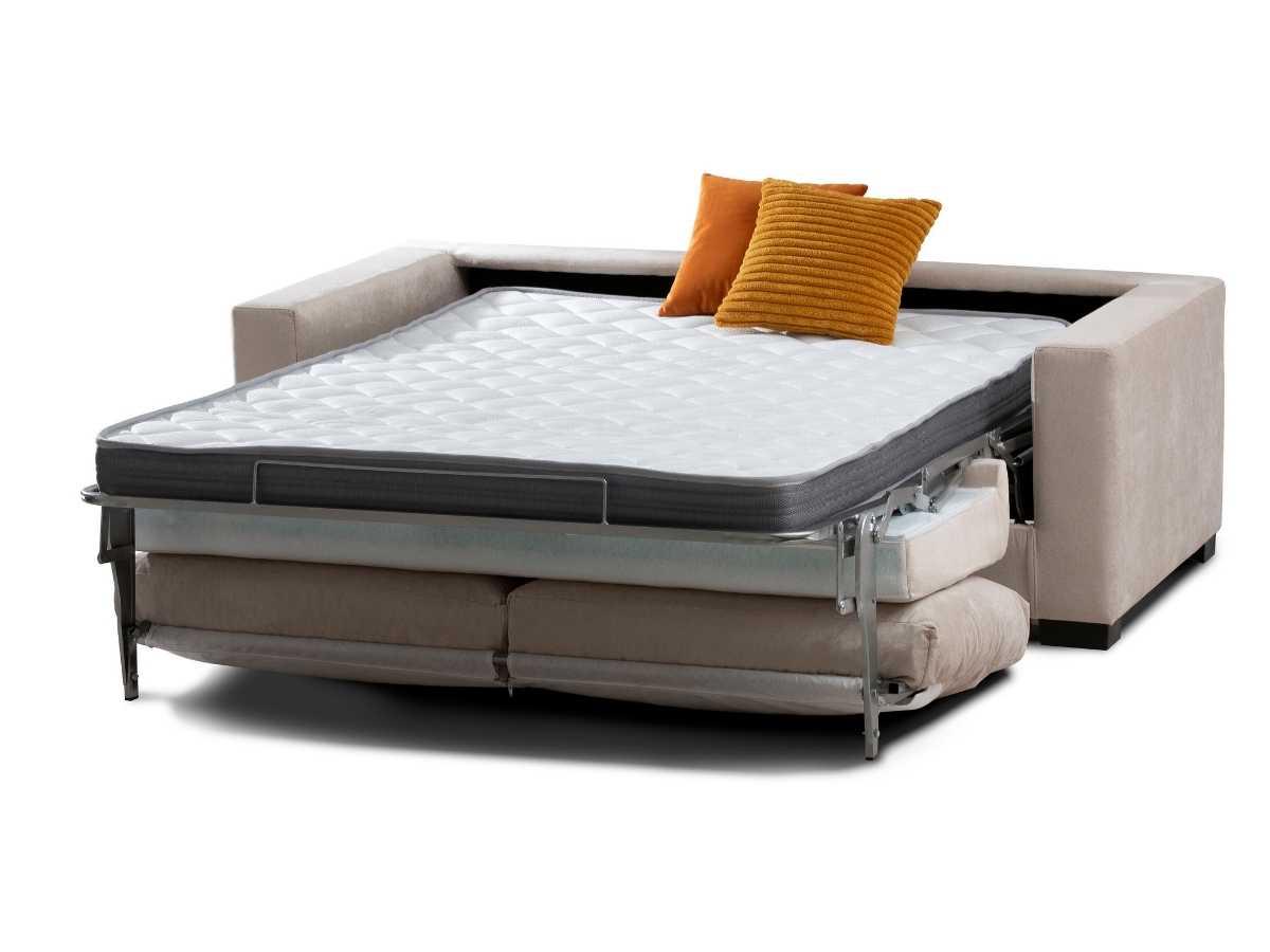 Sofa cama de apertura italiana Seven abierto